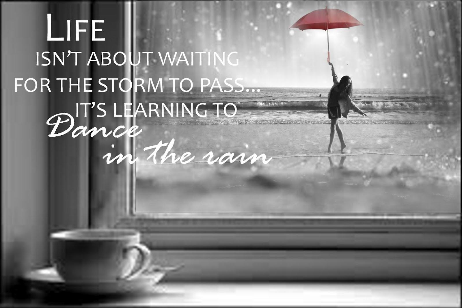 Dance In The Rain Anneke Schrijft