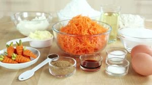 stock-footage-ingredients-for-carrot-cake