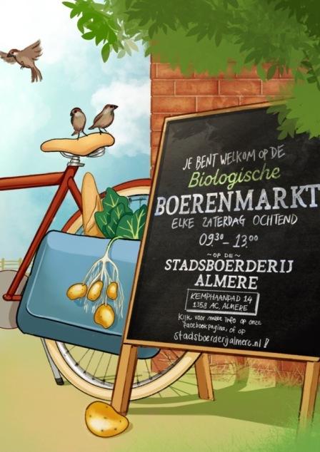 boerenmarktposter